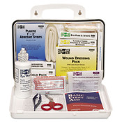 25 Person First Aid Kit in Weatherproof Plastic Case