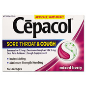Cepacol Numbing Throat Lozenges, Case