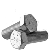 "1 1/8""-7x9 1/2"" Hex Cap Screws Grade 8 Coarse Zinc-Yellow Bake Cr+3 (U.S.A.) (2/Pkg.)"