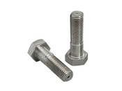 "1/4""-28x2-3/4"" Hex Head Cap Screw Stainless Steel 304 (ASME B18.2.1) (100/Pkg.)"