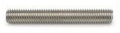 1-8x12' Threaded Rod Stainless Steel 304 (ASME B18.31.3) (1/Pkg.)