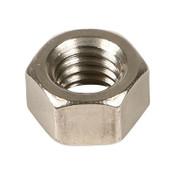 "9/16""-18 Hex Nut Stainless Steel 304 (ASME B18.2.2) (100/Pkg.)"