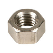 "1-1/8""-12 Hex Nut Stainless Steel 304 (ASME B18.2.2) (5/Pkg.)"