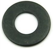"#6 x 3/8"" X 6/34"" Flat Washers, Low Carbon Steel, Black Oxide (25 lb./Bulk Pkg.)"