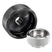 Kipp M5 Knurled Nut, Stainless Steel, DIN 6303 (10/Pkg.), K0137.1052