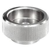 "Kipp 1/4""-20 Knurled Nut, Stainless Steel, DIN 6303 (10/Pkg.), K0137.1A22"