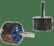 "Flap Wheels - Mounted - 3"" x 1"" x 1/4"", Grit: 40 , Mercer Abrasives 365040 (10/Pkg.)"