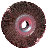"Flap Wheels - Center Hole - 6"" x 1"" x 1"", Grit: 100, Mercer Abrasives 368100 (Qty. 1)"