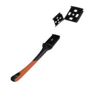 Refill Blades for Premium Hardwood Scraper, Mercer Abrasives 498B15 (12/Pkg.)