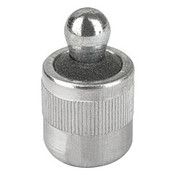 """Kipp 7/16""""x6x75N Lateral Spring Plunger with Seal, Steel Pressure Pin and Spring (1/Pkg.), K0368.22066CU"""