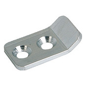 Kipp Clamp for Adjustable Latch, Screw-on Holes Visible, Stainless Steel, Style B (1/Pkg.), K0046.9242272