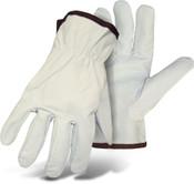 BOSS Unlined Goatskin Driver Glove, Keystone Thumb, Size X-Large (12 Pairs)