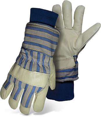 BOSS Lined Grain Pigskin Gloves