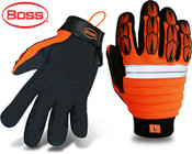 BOSS Mechanic Style Protective Gloves