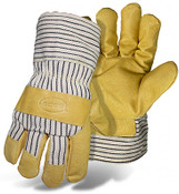 BOSS Pigskin Leather Palm, Fully Lined Safety Glove