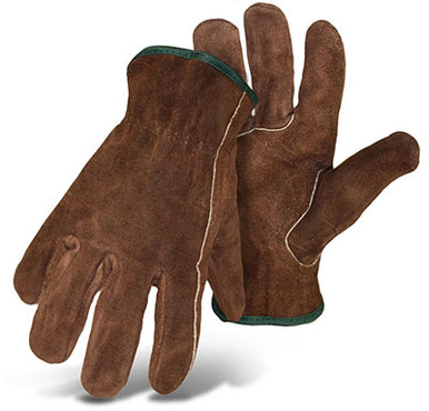 BOSS Brown Unlined Driver Gloves