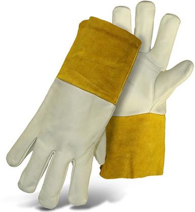 Cowhide Leather TIG Welder Gloves by BOSS