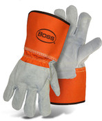 Leather Palm & Back Welder Gloves