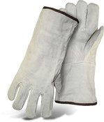 BOSS Cowhide Welder Gloves, Lined