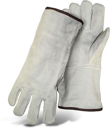BOSS Cowhide Welder Gloves, Lined