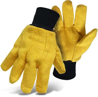 XL Yellow Cotton/Poly Chore Gloves