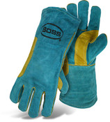 BOSS Green Premium Welder Gloves