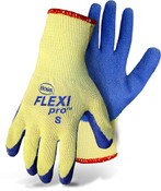 BOSS Flexi Pro Cut Resistant Gloves, Latex Coated Palm & Fingers,  Size Large (12 Pair)