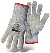 BOSS Extreme Plus Cut Resist Knit Gloves, HPPE Fiber Blend, Cut Level 3,  Size Small (12 Pair)