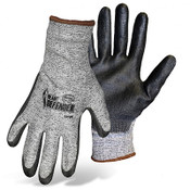 Boss Poly Coated Palm Safety Gloves, Cut Resist 3, Size Small (12 Pair)