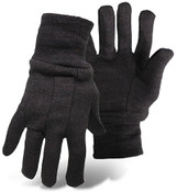 BOSS 9 oz. Brown Jersey General Purpose Gloves, Size Small (12 Pair)