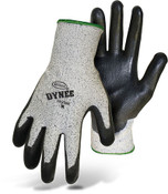 BOSS Dynee Mytee HPPE Blend Cut Resistant Gloves w/ PU Coated Palm & Fingers, Size XL (12 Pair)