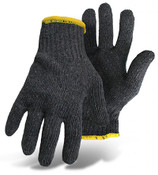 BOSS 60/40 Cotton/Poly String Knit Gloves, Gray, Size Small (12 Pair)