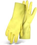 "BOSS 18 mil Latex Glove, Flock Lined, 12"" Cuff, Size XL (12 Pair)"