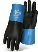 """BOSS 11"""" Lightweight Neoprene Gloves, Wet Grip, Knit Lined, XL (12 Pair)"""