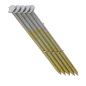 "2"" x .113"" 28-degree Wire Weld Offset Round Head Nails, Bright Coated, Smooth Shank (2,500 Pcs./Box), Grip Rite #GRS6D"