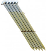 "2"" x .113"" 28-degree Wire Weld Offset Round Head Nails, HDG, Smooth Shank (2,500 Pcs./Box), Grip Rite #GRS6DHG"