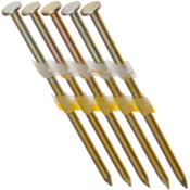 "2"" x .113"" 21-Degree Plastic Strip Round Head Nails - Electrogalvanized, Smooth Shank (2,500 Pcs./Box), Grip Rite #GR05GL"