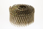 "1-1/2"" x .090"" 15-Degree Wire Weld Coil Nails - 304 Stainless Steel, Ring Shank (3,600 Pcs./Box), Grip Rite #MAXC62816"