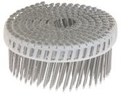 "1-3/4"" x .092"" 15-Degree Plastic Sheet Coil Nails - Electrogalvanized, Ring Shank (6,000 Pcs./Box), Grip Rite #GRPC5R92G"