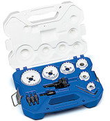 Electrician's Carbide Tipped Hole Cutter Kit, 15-Piece
