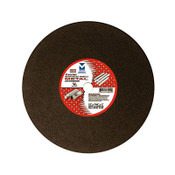 "16"" x 7/64"" x 1"" Low Horsepower Chop Saw Wheel Center Reinforced, Mercer Abrasives 603030 (10/Pkg.)"