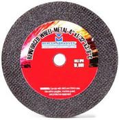 "4"" x 1/8"" x 5/8"" Coarse Grade Small Diameter Double Reinforced High-Speed Cut-Off Wheel, Mercer Abrasives 614280 (50/Pkg.)"