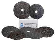 "Floor Sanding Edger Discs - Silicon Carbide Bolt-On - 7"" x 7/8"" Hole, Grit/ Weight: 80F, Mercer Abrasives 408080 (50/Pkg.)"