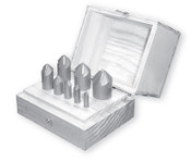 "R-200 HSS Countersink Set, 6 Flute, 82 Degree (1/4"", 5/16"", 3/8"", 1/2"", 5/8"", 3/4"", 7/8"" & 1"" w/ Wood Box)"