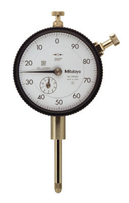 "Dial Indicator, Series 2 Standard, Inch Reading, .500"" Range"