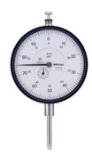 "Dial Indicator, Series 3 Large Face, Inch Reading, 1"" Range"