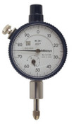 "Dial Indicator, Series 1 Compact 0-50-0 Face, Inch Reading, .025"" Range"