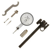 .03/.0005, 0-15-0 Quick-Set Dial Test Indicator Set, Horizontal
