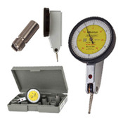 ".03""/.01 mm Inch/Metric Quick-Set Dial Test Indicator Set, Horizontal"