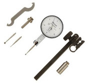 ".03""/.0005, 0-15-0 Quick-Set Dial Test Indicator Set, Long Point, Horizontal"